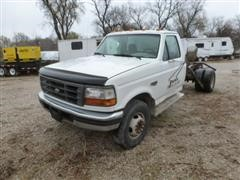 1997 Ford F450 Super Duty Cab And Chassis