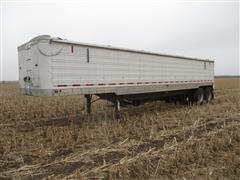 1974 American 38' Convert-a-Hopper T/A Grain Trailer