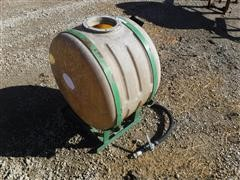 ATV Sprayer Tank On Steel Frame