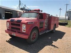 1968 Chevrolet C60 Fire Truck