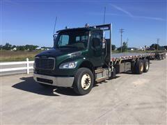 2012 Freightliner M2 T/A Flatbed Dump Truck