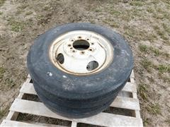 Double Coin RT500 Pickup Dual Tires & Rims
