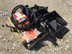 Rhino N20 Drive Digger & Auger W/Heavy Duty Faceplate