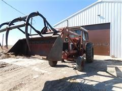 International Hydro 100 2WD Tractor W/Loader