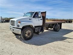 1999 Chevrolet C6500 S/A Flatbed Dump Truck