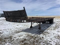 1973 American T/A Flatbed Trailer