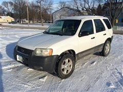 2003 Ford Escape XLT 4x4 SUV