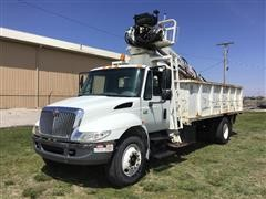 2004 International 4300 Knuckleboom Scrap Handler Truck