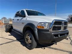2011 Dode Ram 4500 Heavy Duty 4x4 Crew Cab And Chassis