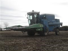 1974 Ford 642 Combine W/JD 653A Header