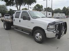 2007 Ford F350 Lariat Flatbed Pickup