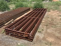 16' Steel Pipe Gates