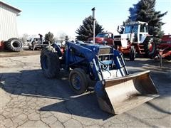1968 Ford 3000 2WD Tractor W/Loader