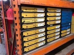 Karr Parts In Pull-Out Trays