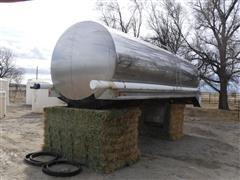 1981 Walker BPC-158 Stainless Steel Tank