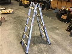 Werner MT-22 Aluminum Multipurpose & Position Ladder