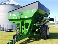 2008 Parker 839 Grain Cart
