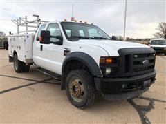 2008 Ford F450 XL Super Duty 4x4 Extended Cab Service Truck
