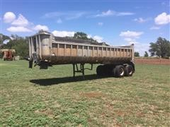 1972 Hobbs 300 T/A End Dump Trailer