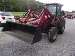2015 Mahindra 2565 MFWD Tractor W/ 2565 Loader