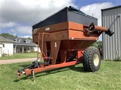 A&L 57 Grain Cart W/Scale