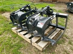 Stout 66-9 Brush Grapple Skid Steer Attachment