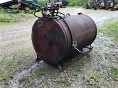 500-Gallon Steel Fuel Tank W/Pump, Meter & Nozzle