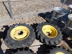John Deere/Galaxy Utiity Tractor MFD Front Tires & Rims