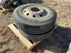 275/80R22.5 Steering Tires
