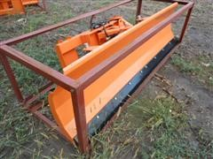 2016 TMG Industrial GI-SP220 Skid Steer Dozer Blade Attachment