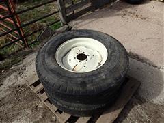9.00-20 Tires W/6 Bolt Rims
