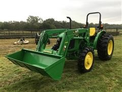 2017 John Deere 5045E MFWD Tractor W/Loader