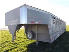 2013 Eby Ruffneck T/A Gooseneck Livestock Trailer