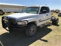 1998 Dodge RAM 3500 SLT Laramie 4x4 Extended Cab & Chassis