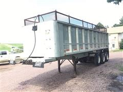 1986 East Tri/A Aluminum End Dump Trailer