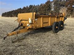 2001 Knight 1040 T/A Manure Spreader