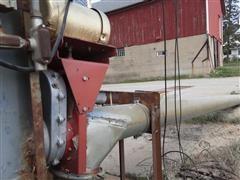"Hutchinson 10"" X 27.5' Grain Auger W/Electric Motor"