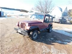 1987 American Motors/Jeep Wrangler 4x4 SUV
