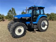 1994 Ford New Holland 8870 Super Steer MFWD Tractor