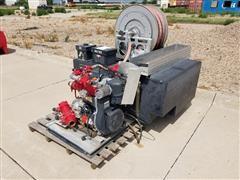 2000 Lombardini Engine/Water/Foam Tank W/ Hose Reel