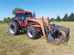 1991 Case International 5140 MFWD Tractor