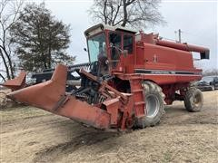 International 1460 4WD Combine & Flex Header