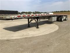 2002 Reitnouer T/A Spread-Axle Flatbed Trailer