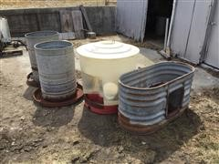 Pig Water Tanks & Feeders