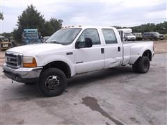 1999 Ford F350 Dually 4x4 Crew Cab Pickup