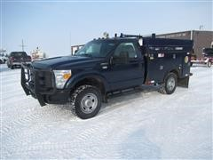2013 Ford F350 XL Super Duty 4x4 Service Pickup