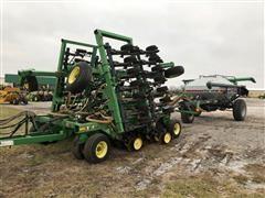 1998 John Deere 1850 Air Drill And Cart