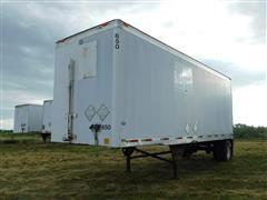 "1998 Utility VS1D 28' X 102"" Van Trailer"