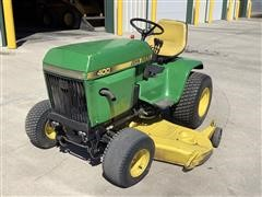 John Deere C400L Riding Lawn Mower