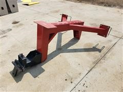 Rear Receiver Hitch For Farm Implement